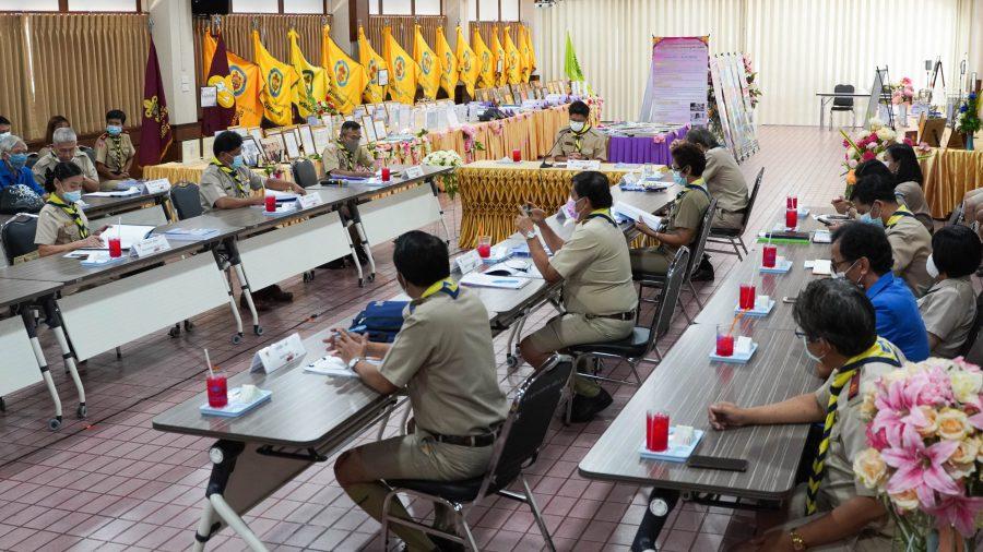 คณะกรรมการคัดเลือกโรงเรียนต้นแบบลูกเสือ สพม.จันทบุรี ตราด